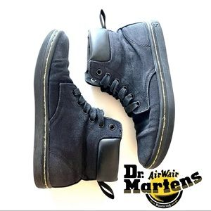 Dr. Martens Maelly Canvas High Ankle Boots Docs